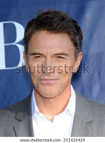 LOS ANGELES - JUL 17:  Tim Daly arrives to the CBS-CW-Showtime Summer TCA Press Tour 2014  on July7, 2014 in West Hollywood, CA.                 - stock photo