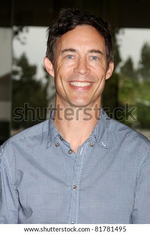 LOS ANGELES - JUL 27:  Tom Cavanagh arriving at the 2011 TCA Summer Press Tour - Hallmark Channel at Beverly Hilton Hotel on July 27, 2011 in Beverly Hills, CA