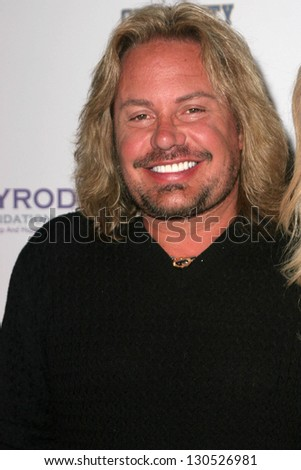 "LOS ANGELES - JULY 11: Vince Neil at ""An All Star Night At The Mansion"" charity event at Playboy Mansion on July 11, 2006 in Holmby Hills, Los Angeles, CA."