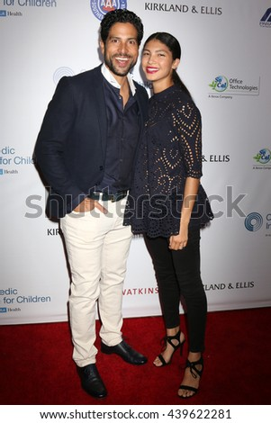 LOS ANGELES - JUN 18: Adam Rodriguez at the Stand For Kids Gala at the Twentieth Century Fox Studios Lot on  ,  June 18, 2016 in Century City, CA - stock photo