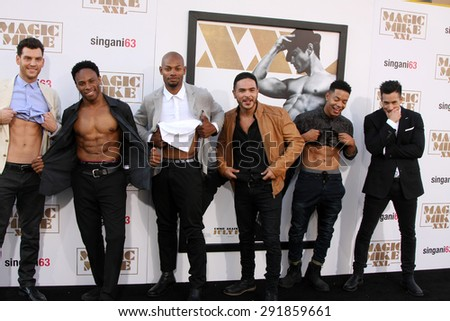 "LOS ANGELES - JUN 25:  Atmosphere at the ""Magic Mike XXL"" Premiere at the TCL Chinese Theater on June 25, 2015 in Los Angeles, CA