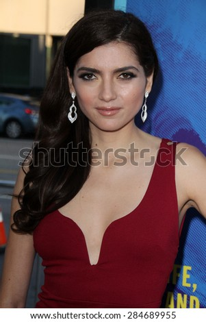 """LOS ANGELES - JUN 2:  Blanca Blanco at the """"Love & Mercy"""" Los Angeles Premiere at the Academy of Motion Picture Arts & Sciences on June 2, 2015 in Los Angeles, CA - stock photo"""