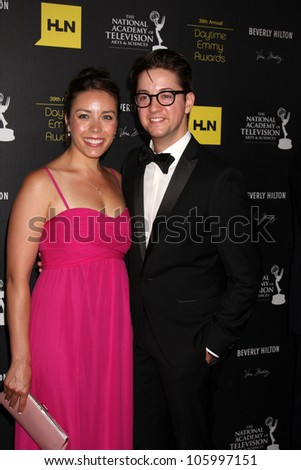 LOS ANGELES - JUN 23:  Bradford Anderson arrives at the 2012 Daytime Emmy Awards at Beverly Hilton Hotel on June 23, 2012 in Beverly Hills, CA - stock photo