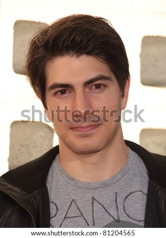 LOS ANGELES - JUN 21:  BRANDON ROUTH arrives to HBO's 'True Blood' Season 4 Premiere  on June 21,2011 in Hollywood, CA - stock photo