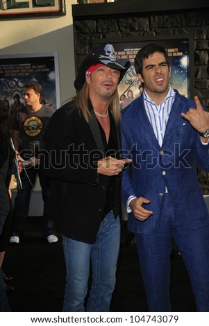 LOS ANGELES - JUN 8: Bret Michaels at the 'Rock of Ages' Los Angeles premiere held at Grauman's Chinese Theater on June 8, 2012 in Los Angeles, California