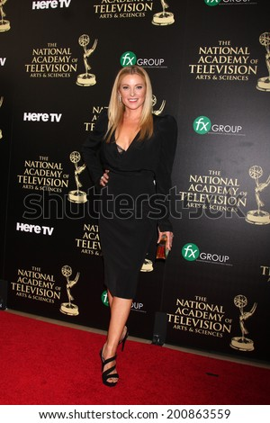 LOS ANGELES - JUN 22:  Cady McClain at the 2014 Daytime Emmy Awards Arrivals at the Beverly Hilton Hotel on June 22, 2014 in Beverly Hills, CA - stock photo