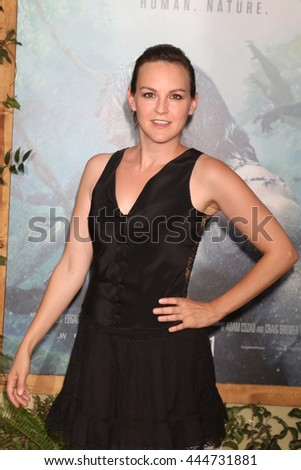 LOS ANGELES - JUN 27:  Carla Gallo at The Legend Of Tarzan Premiere at the Dolby Theater on June 27, 2016 in Los Angeles, CA - stock photo