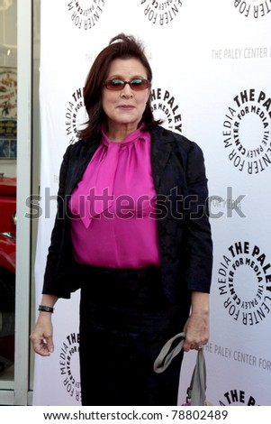 LOS ANGELES - JUN 7:  Carrie Fisher arrives at the Debbie Reynolds Hollywood Memorabilia Collection Auction & Auction Preview at Paley Center For Media on June 7, 2011 in Beverly Hills, CA - stock photo