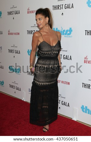 LOS ANGELES - JUN 13:  Charisma Carpenter at the 7th Annual Thirst Gala at the Beverly Hilton Hotel on June 13, 2016 in Beverly Hills, CA - stock photo