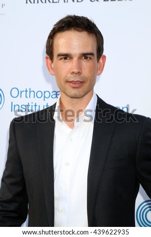 LOS ANGELES - JUN 18: Christopher Gorham at the Stand For Kids Gala at the Twentieth Century Fox Studios Lot on  ,  June 18, 2016 in Century City, CA - stock photo