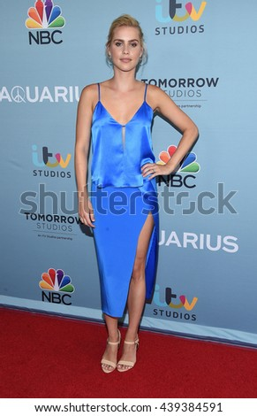 "LOS ANGELES - JUN 16:  Claire Holt arrives to the ""Aquarius"" Season 2 Premiere  on June 16, 2016 in Hollywood, CA."