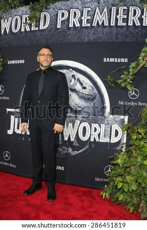"LOS ANGELES - JUN 9:  Colin Trevorrow at the ""Jurassic World"" World Premiere at the Dolby Theater, Hollywood & Highland on June 9, 2015 in Los Angeles, CA