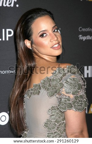 LOS ANGELES - JUN 27:  Dascha Polanco at the NALIP 16th Annual Latino Media Awards at the W Hollywood on June 27, 2015 in Los Angeles, CA - stock photo