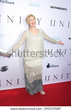 """LOS ANGELES - JUN 24:  Dee Wallace at the """"Unity"""" Documentary World Premeire at the Director's Guild of America on June 24, 2015 in Los Angeles, CA - stock photo"""