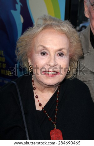 """LOS ANGELES - JUN 2:  Doris Roberts at the """"Love & Mercy"""" Los Angeles Premiere at the Academy of Motion Picture Arts & Sciences on June 2, 2015 in Los Angeles, CA - stock photo"""