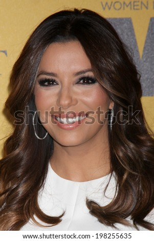 LOS ANGELES - JUN 11:  Eva Longoria at the Women In Film 2014 Crystal + Lucy Awards at Century Plaza Hotel on June 11, 2014 in Beverly Hills, CA - stock photo