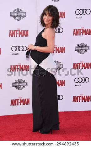 "LOS ANGELES - JUN 29:  Evangeline Lilly arrives to the ""Ant-Man"" World Premiere  on June 29, 2015 in Hollywood, CA"