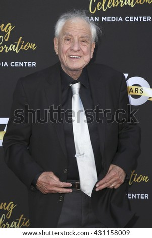 LOS ANGELES - JUN 2:  Garry Marshall at the Television Academy 70th Anniversary Gala at the Saban Theater on June 2, 2016 in North Hollywood, CA - stock photo