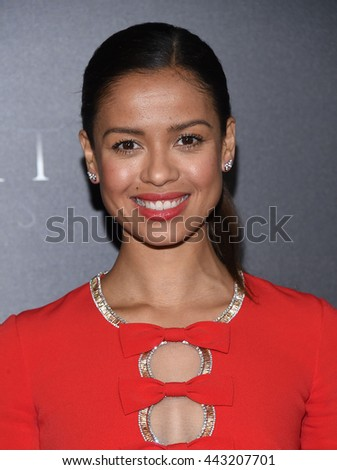 "LOS ANGELES - JUN 21:  Gugu Mbatha-Raw arrives to the ""Free State of Jones"" Hollywood Premiere  on June 21, 2016 in Hollywood, CA.                 - stock photo"