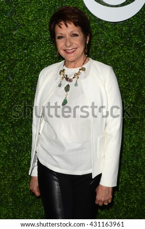 LOS ANGELES - JUN 2:  Ivonne Coll at the 4th Annual CBS Television Studios Summer Soiree at the Palihouse on June 2, 2016 in West Hollywood, CA - stock photo