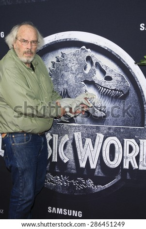 """LOS ANGELES - JUN 9:  Jack Horner at the """"Jurassic World"""" World Premiere at the Dolby Theater, Hollywood & Highland on June 9, 2015 in Los Angeles, CA - stock photo"""