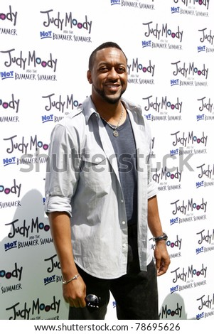 LOS ANGELES - JUN 4:  Jaleel White arriving at 'Judy Moody And The NOT Bummer Summer' Premiere at ArcLight Hollywood on June 4, 2011 in Los Angeles, CA - stock photo
