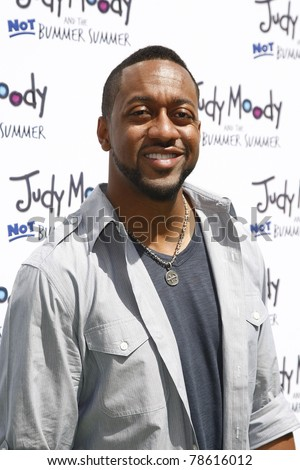 LOS ANGELES - JUN 4: Jaleel White at the premiere of Relativity Media's 'Judy Moody And The NOT Bummer Summer' held at ArcLight Hollywood in Los Angeles, California on June 4, 2011. - stock photo