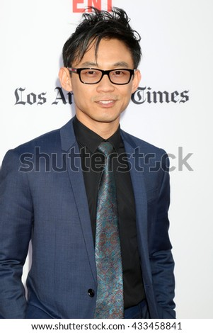 LOS ANGELES - JUN 7:  James Wan at the 2016 Los Angeles Film Festival - The Conjuring 2 Premiere at TCL Chinese Theater IMAX on June 7, 2016 in Los Angeles, CA - stock photo