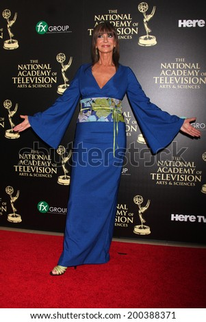 LOS ANGELES - JUN 22:  Jess Walton at the 2014 Daytime Emmy Awards Arrivals at the Beverly Hilton Hotel on June 22, 2014 in Beverly Hills, CA - stock photo