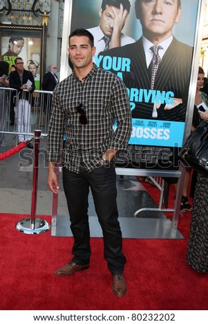 "LOS ANGELES - JUN 30:  Jesse Metcalfe arriving at the ""Horrible Bosses"" Premiere at Graumans Chinese Theater on June 30, 2011 in Los Angeles, CA"