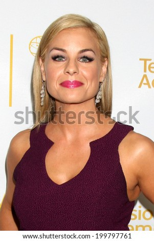 LOS ANGELES - JUN 19:  Jessica Collins at the ATAS Daytime Emmy Nominees Reception at the London Hotel on June 19, 2014 in West Hollywood, CA