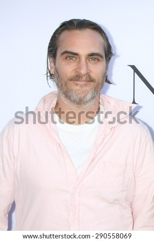 "LOS ANGELES - JUN 24:  Joaquin Phoenix at the ""Unity"" Documentary World Premeire at the Director's Guild of America on June 24, 2015 in Los Angeles, CA - stock photo"