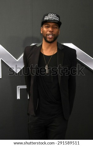 "LOS ANGELES - JUN 28:  Jocko Sims at the ""Terminator Genisys"" Los Angeles Premiere at the Dolby Theater on June 28, 2015 in Los Angeles, CA - stock photo"