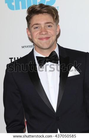 LOS ANGELES - JUN 13:  Jonah Green at the 7th Annual Thirst Gala at the Beverly Hilton Hotel on June 13, 2016 in Beverly Hills, CA - stock photo