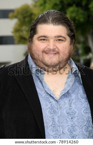 "LOS ANGELES - JUN 8:  Jorge Garcia arriving at the ""Super 8"" Premiere at Village Theataer on June 8, 2011 in Westwood, CA"