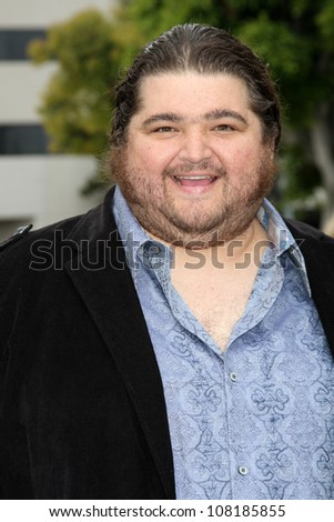 "LOS ANGELES - JUN 8:  Jorge Garcia arriving at the ""Super 8"" Premiere at Village Theater on June 8, 2011 in Westwood, CA"