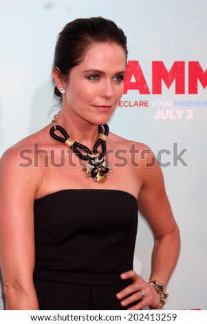 "LOS ANGELES - JUN 30:  Katie Aselton at the ""Tammy"" Los Angeles Premiere at the TCL Chinese Theater on June 30, 2014 in Los Angeles, CA"