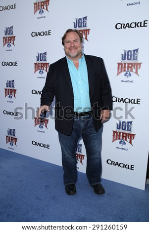 "LOS ANGELES - JUN 24:  Kevin Farley at the ""Joe Dirt 2: Beautiful Loser"" Premiere at the Sony Studios on June 24, 2015 in Culver City, CA - stock photo"
