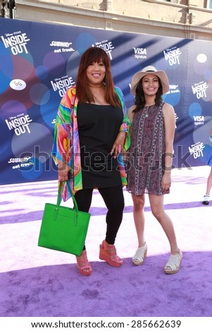 "LOS ANGELES - JUN 8:  Kim Whitley at the ""Inside Out"" Premiere at the El Capitan Theatre on June 8, 2015 in Los Angeles, CA"
