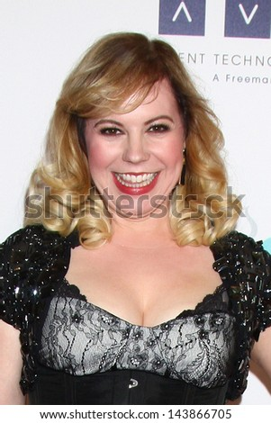 LOS ANGELES - JUN 25:  Kirsten Vangsness arrives at the 4th Annual Thirst Gala at the Beverly Hilton Hotel on June 25, 2013 in Beverly Hills, CA
