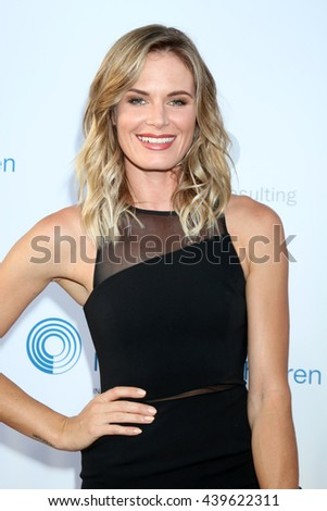 LOS ANGELES - JUN 18: Lauren Shaw at the Stand For Kids Gala at the Twentieth Century Fox Studios Lot on  ,  June 18, 2016 in Century City, CA - stock photo