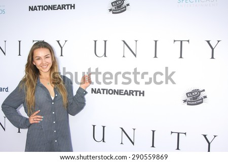 """LOS ANGELES - JUN 24:  Lexi Ainsworth at the """"Unity"""" Documentary World Premeire at the Director's Guild of America on June 24, 2015 in Los Angeles, CA - stock photo"""
