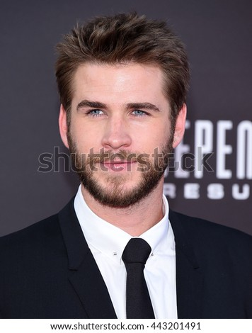 "LOS ANGELES - JUN 20:  Liam Hemsworth arrives to the ""Independence Day: Resurgence"" Los Angeles Premiere  on June 20, 2016 in Hollywood, CA.                 - stock photo"