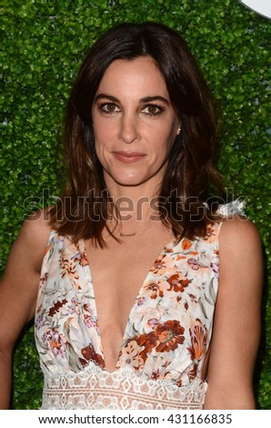 LOS ANGELES - JUN 2:  Lindsay Sloane at the 4th Annual CBS Television Studios Summer Soiree at the Palihouse on June 2, 2016 in West Hollywood, CA