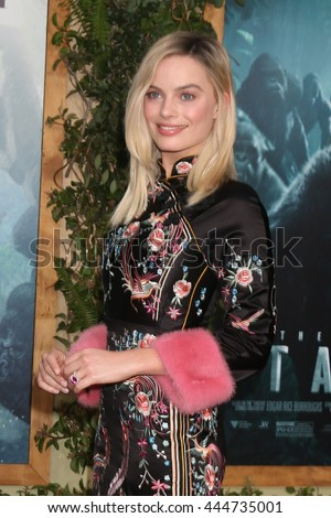 LOS ANGELES - JUN 27:  Margot Robbie at The Legend Of Tarzan Premiere at the Dolby Theater on June 27, 2016 in Los Angeles, CA - stock photo