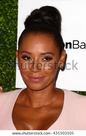 LOS ANGELES - JUN 4:  Mel B, Mel Brown at the 2016 Ladylike Women of Excellence Awards Gala at the Beverly Hilton Hotel on June 4, 2016 in Beverly Hills, CA - stock photo