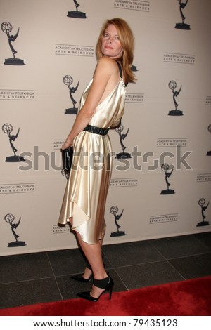 LOS ANGELES - JUN 16:  Michelle Stafford arrives at the Academy of Television Arts and Sciences Daytime Emmy Nominee Reception at SLS Hotel at Beverly Hills on June 16, 2011 in Beverly Hills, CA - stock photo