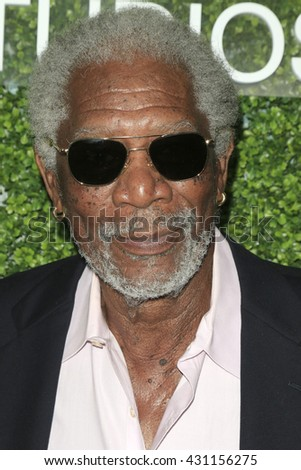 LOS ANGELES - JUN 2:  Morgan Freeman at the 4th Annual CBS Television Studios Summer Soiree at the Palihouse on June 2, 2016 in West Hollywood, CA - stock photo