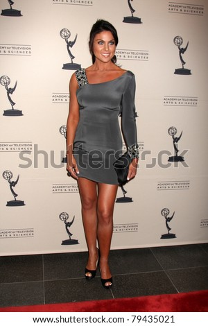 LOS ANGELES - JUN 16:  Nadia Bjorlin arrives at the Academy of Television Arts and Sciences Daytime Emmy Nominee Reception at SLS Hotel at Beverly Hills on June 16, 2011 in Beverly Hills, CA - stock photo