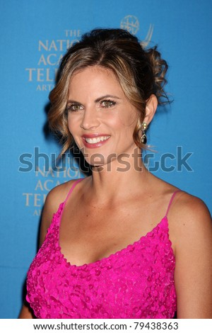 LOS ANGELES - JUN 17:  Natalie Morales arrives at the 38th Annual Daytime Creative Arts & Entertainment Emmy Awards at Westin Bonaventure Hotel on June 17, 2011 in Los Angeles, CA